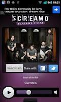 Screenshot of ScreamoRadio.com FREE