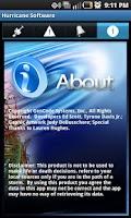Screenshot of Hurricane Software