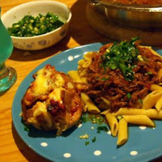 Braised Lamb Ragu With Penne