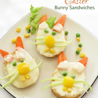 Easter Bunny Sandwiches