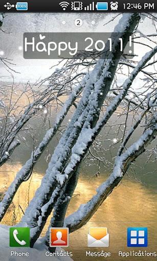 冬季風光 LiveWallpaper