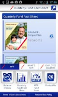 Screenshot of AXA@Work