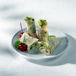 Curry-Huhn-Wrap