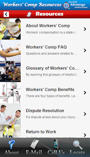 Workers' Comp Resources - screenshot