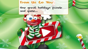 Screenshot of PUZZINGO Christmas Puzzle Lite