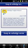 Screenshot of ANWB Taalgids Italiaans
