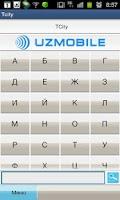 Screenshot of Tcity mobile Uzbekistan