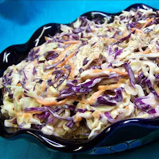 Healthy Chopped Coleslaw