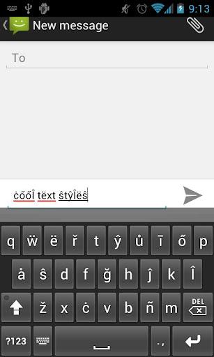 Text Styler Keyboard - Fleas