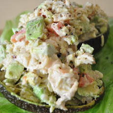 Creole Crab Stuffed Avocados
