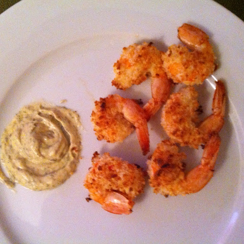 Baked Panko Crusted Shrimp