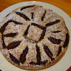 Almond and Plum Tart