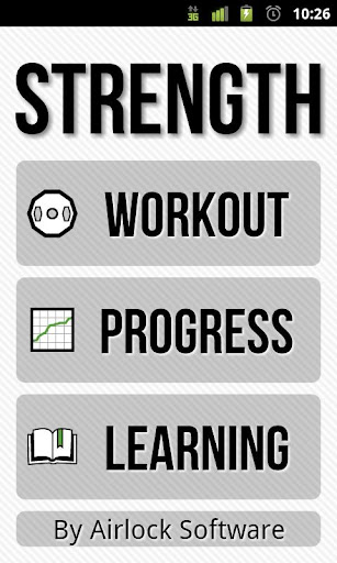 Strength Lite: Workout Log