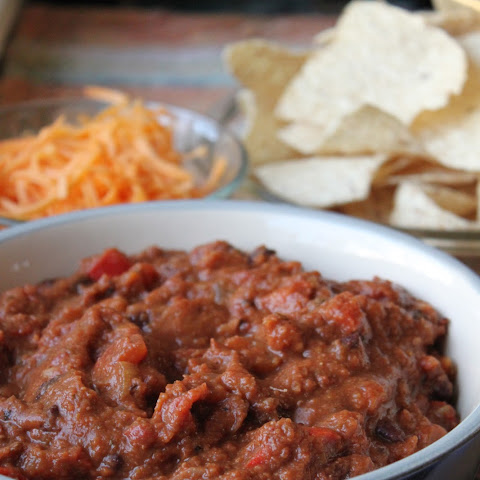 ... chili smoky beef chili with tortilla chip crust smoky chipotle