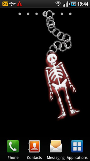 Cool Skeleton Live Wallpaper