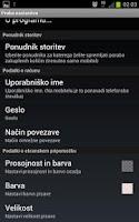 Screenshot of Mobitel Poraba