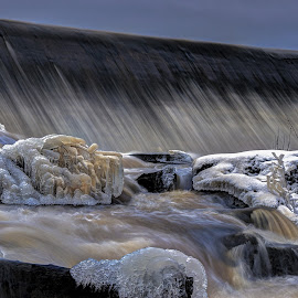 Escape by Bojan Bilas - Nature Up Close Water ( nature, waterscape, finland, rapids )