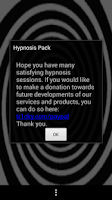 Screenshot of Hypnosis pack