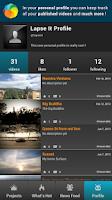 Screenshot of Lapse It • Time Lapse • Pro