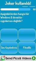 Screenshot of Bilişim Bilgi Yarışması