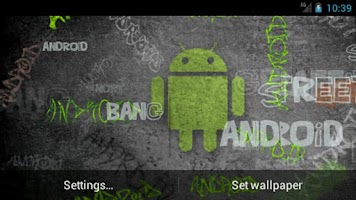 Screenshot of Cool Android Graffiti