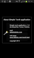 Screenshot of Simple torch