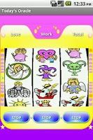 Screenshot of Tarot Machine