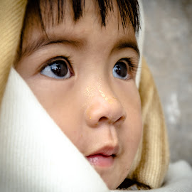 Innocent by Khun Myo Than Htun - Babies & Children Children Candids ( child, myanmar, the look, beautiful eyes, candid )