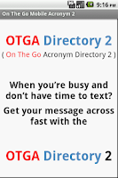 Screenshot of OTGA 2
