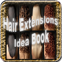 Hair Extensions Idea Book icon