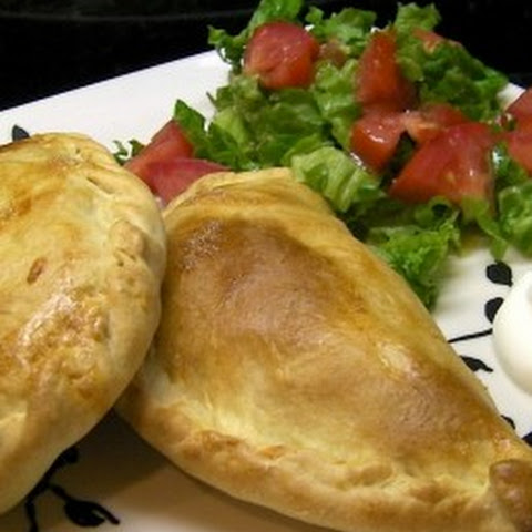 Baked Chicken Bean and Cheese Empanadas