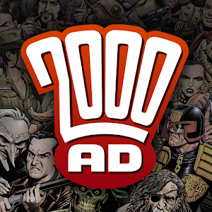 Cover art 2000 AD Comics and Judge Dredd