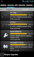 Screenshot of Battlefield BF3 Stats