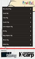 Screenshot of Carp Rig Guide