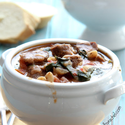 Slow Cooker Beef and White Bean Stew