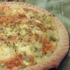 Dads Favourite Stilton Quiche