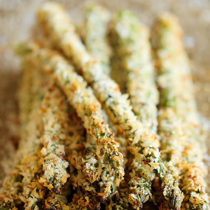 Honey Breadcrumb Asparagus Recipes — Dishmaps