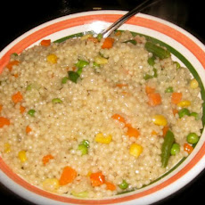 Couscous With Peas and Onions