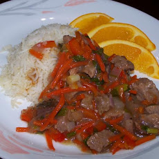Spicy Orange Beef Stir Fry