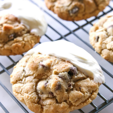Jumbo Coconut Chocolate Chip Cookies