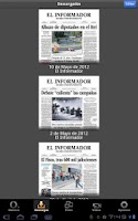Screenshot of El Informador (tabletas)