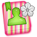 GO CONTACTS - Strawberry Kiwi icon