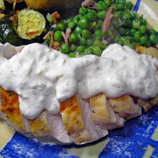 Dill Chicken With Cream Sauce