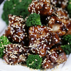 Bone Suckin' Yaki Sesame Chicken