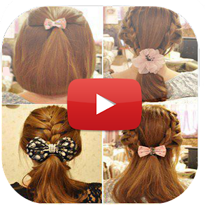Hair Style Videos Extraordinary App Hairstyle Tutorials Video Apk For Windows Phone  Android .