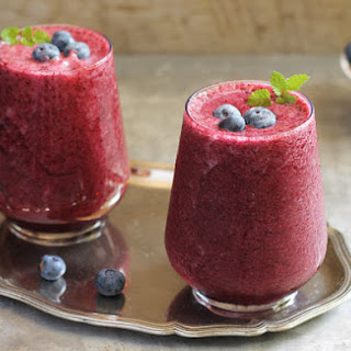 Banana Blueberry Smoothie Healthy Recipes