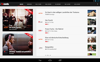 Screenshot of TV-MEDIA TV Programm