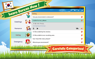 Screenshot of Learn Korean