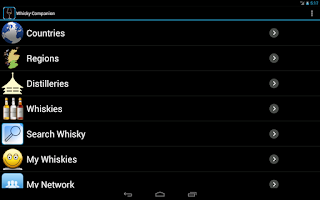 Screenshot of Whisky Companion