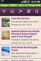 Screenshot of Islam Menjawab